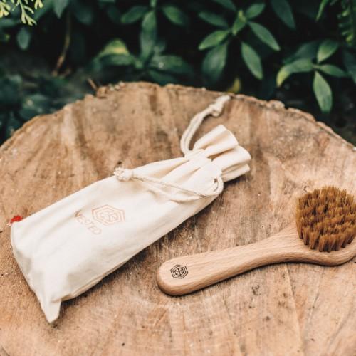Bydgoska Wytwórnia Mydła Szczotka do szczotkowania  twarzy na sucho