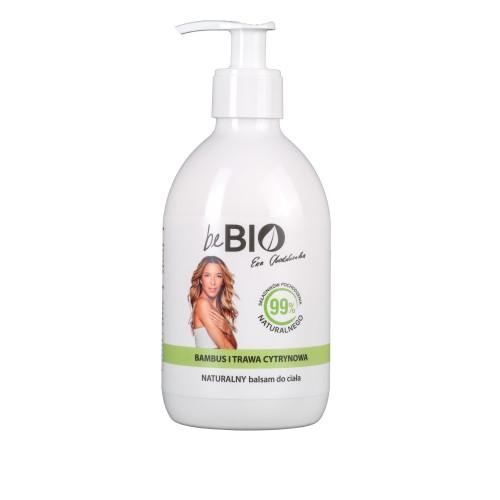 Be Bio Naturalny balsam do ciała BAMBUS I TRAWA CYTRYNOWA 400 ml
