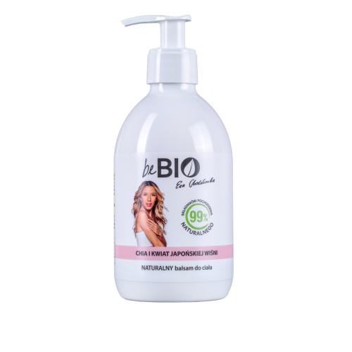 Be Bio Naturalny balsam do ciała CHIA I KWIAT JAPOŃSKIEJ WIŚNI 400 ml
