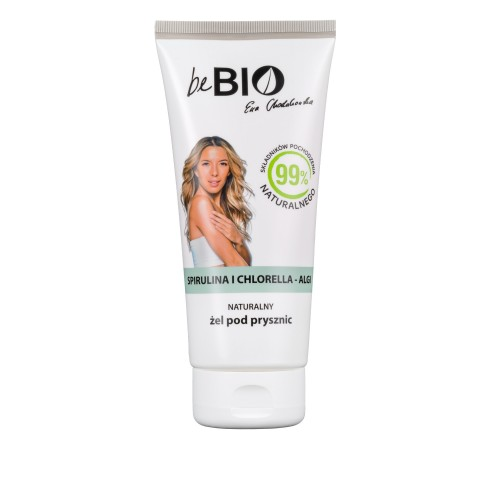 Be Bio Naturalny żel pod prysznic SPIRULINA I CHLORELLA ALGI 200 ml