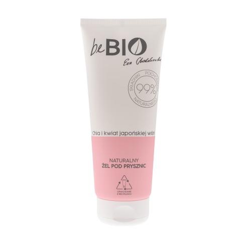 Be Bio Naturalny żel pod prysznic CHIA I KWIAT JAPOŃSKIEJ WIŚNI 200 ml