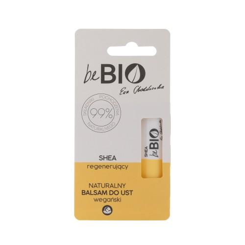 Be Bio Naturalny balsam do ust regenerujący z masłem Shea