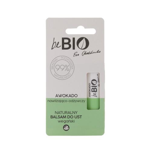 Be Bio Naturalny balsam do ust nawilżająco – odżywczy z Awokado