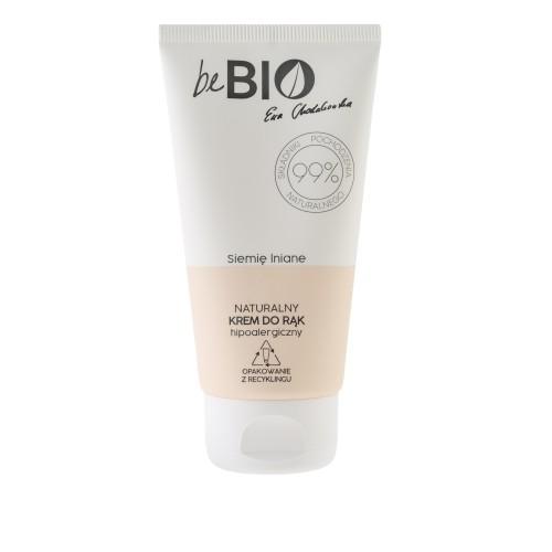 Be Bio Naturalny krem do rąk SIEMIĘ LNIANE 75 ml