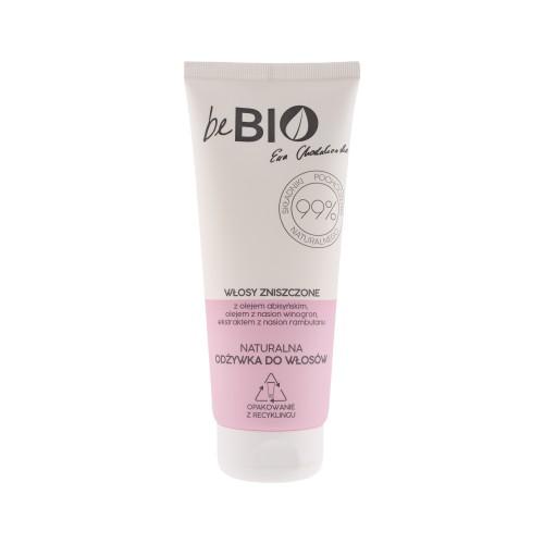 Be Bio Naturalna odżywka do włosów zniszczonych 200 ml