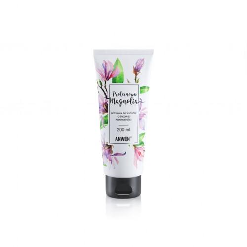 Anwen Odżywka do włosów o średniej porowatości Proteinowa Magnolia, 200 ml