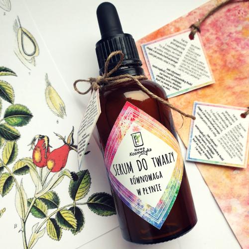 Nowa Kosmetyka Serum do twarzy Równowaga w płynie