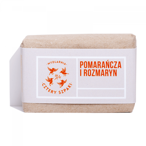 Mydlarnia Cztery Szpaki Mydło Pomarańcza i Rozmaryn